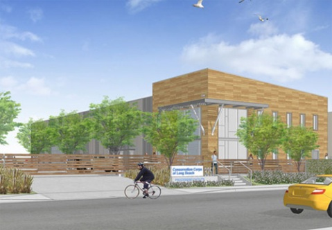 Long Beach Environmental Education Center - Rendering