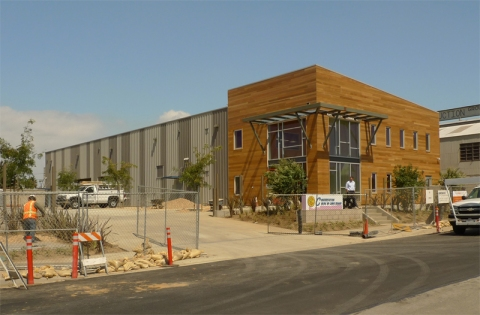 Long Beach Environmental Education Center - Under Construction