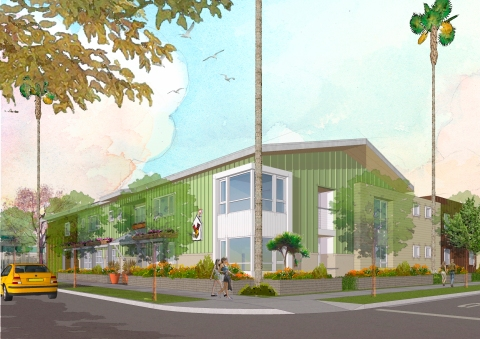 Long Beach Ronald McDonald House - Rendering