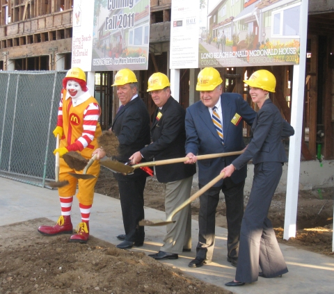 Long Beach Ronald McDonald House - Official Groundbreaking